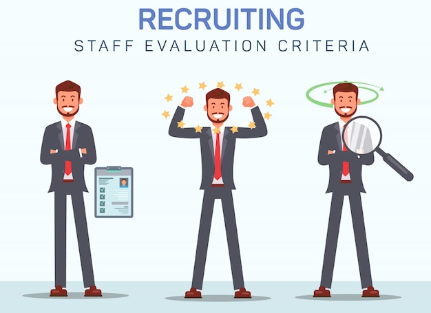 Staff evaluation criteria