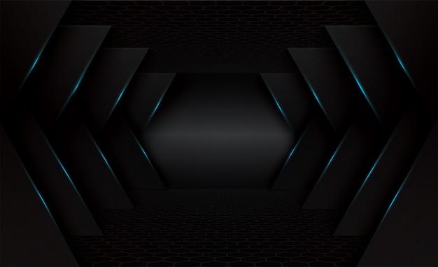 Stage 3d black background