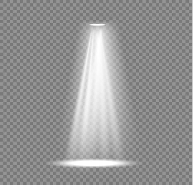 舞台照明スポットライトシーンプロジェクターライト効果明るい白色照明
