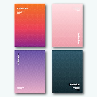 Stages of the day halftone gradient cover