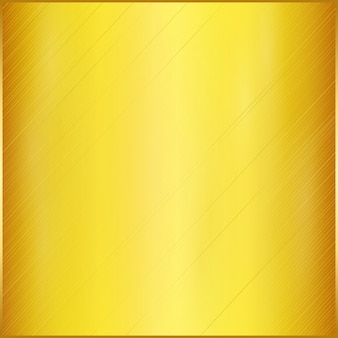 Stain realistic golden plate background.