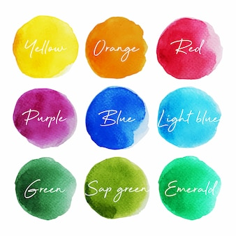 Набор акварельных красок