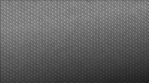 Stainless backdrop hexagon lines. seamless light monochrome background web.