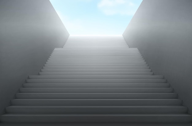 계단은 천국으로 이어집니다.