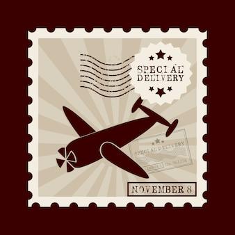Stamp mail design
