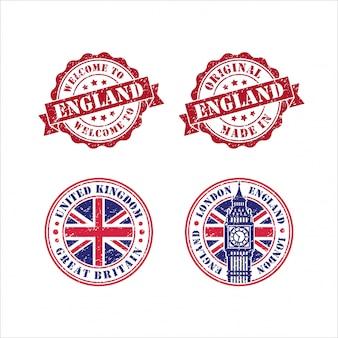 Stamp original mede in england collection