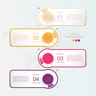 Standard infographic for business
