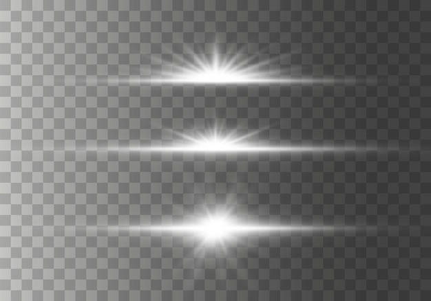 Звезда вспыхнула с блестками на прозрачном фоне