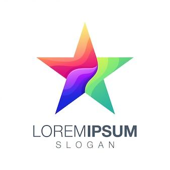 Star collection logo design