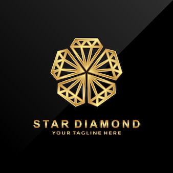 Star diamond logo