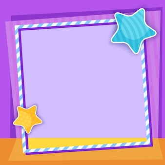 Star frame background