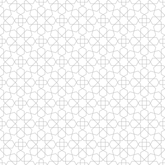 Star geometric seamless pattern