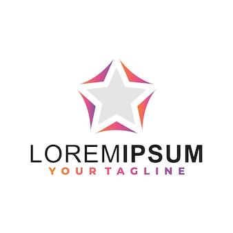 Звездный градиент логотип