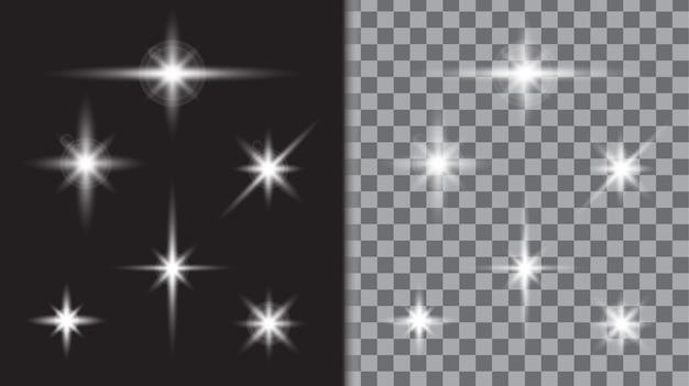 Шаблон вспышки звездного света