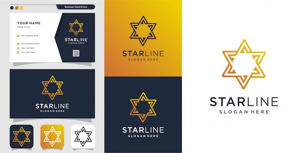 Star logo and business card design template. energy, abstract, card, icon, luxury, star