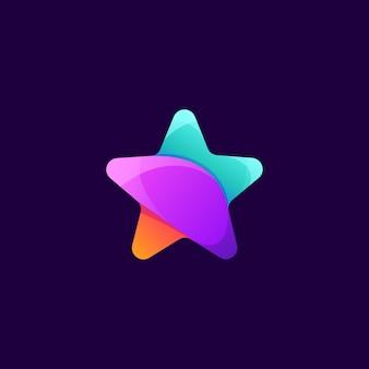 Star logo design design