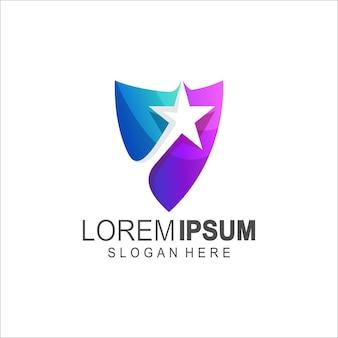 Star logo icon security