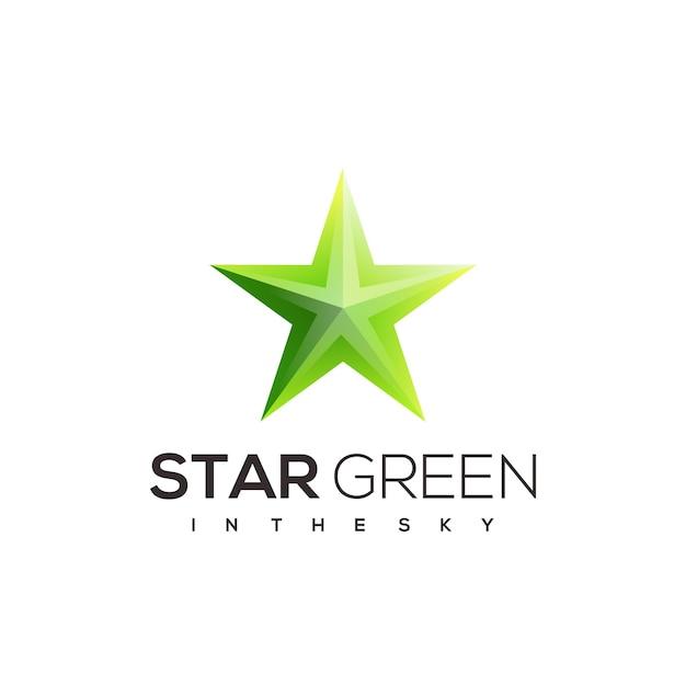星のロゴのテンプレート