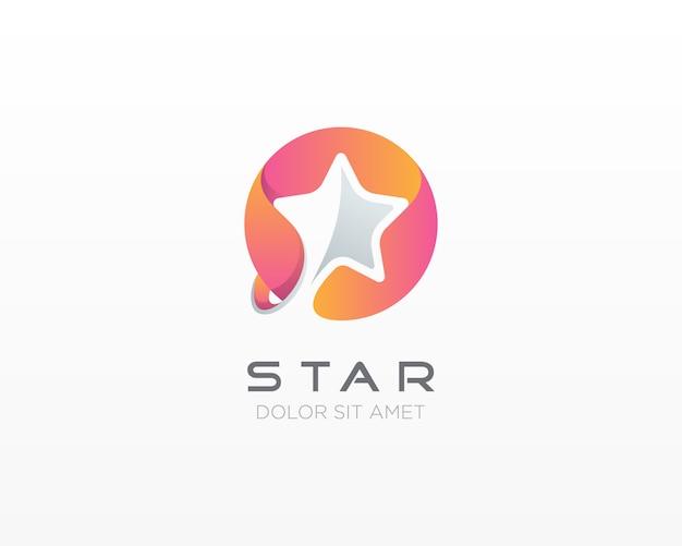 스타 로고