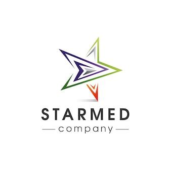 Логотип star media