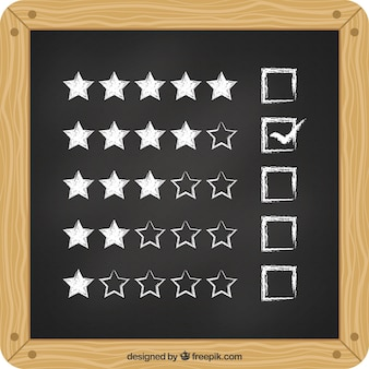 スレートの星評価
