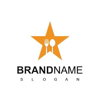 スターレストランとカフェのロゴ