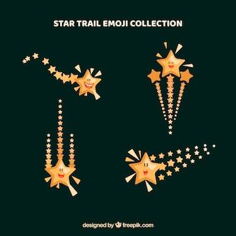 Коллекция звездной тропы emoji