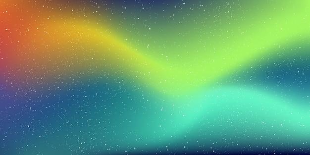 深宇宙の背景にある星の宇宙と星屑、そして宇宙に星雲がある夜の天の川銀河