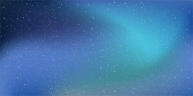 星の宇宙の背景。