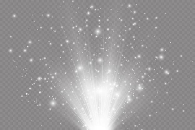별빛 효과 배경 개념