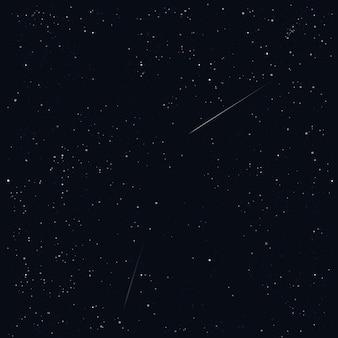 星空の背景。図