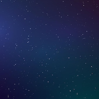 Starry sky color background. dark night sky. infinity space with shiny stars. vector