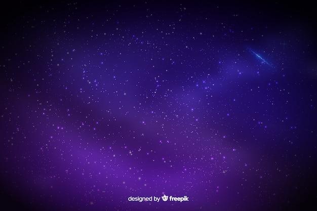Sfondo sfumato cielo stellato