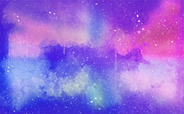 Starry spotted watercolor background