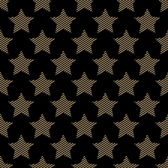 Stars pattern, abstract geometric background. creative and luxury style illustration