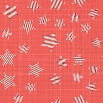 Звезды узор на ткани, абстрактные геометрические фон. креативный и роскошный стиль иллюстрации