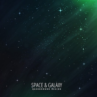 Stars universe background