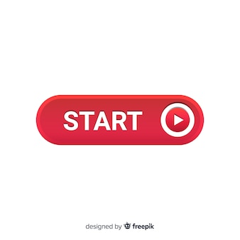 Start button with play symbol