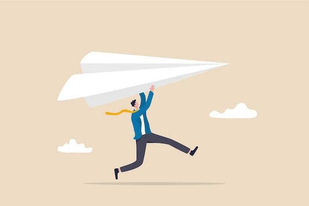 Start new business, startup or entrepreneurship.