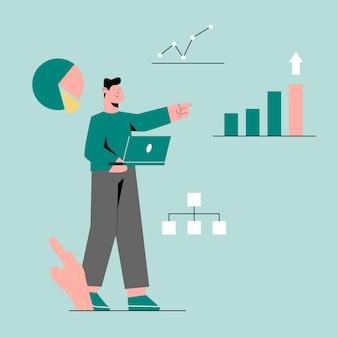 Start up to analytics data