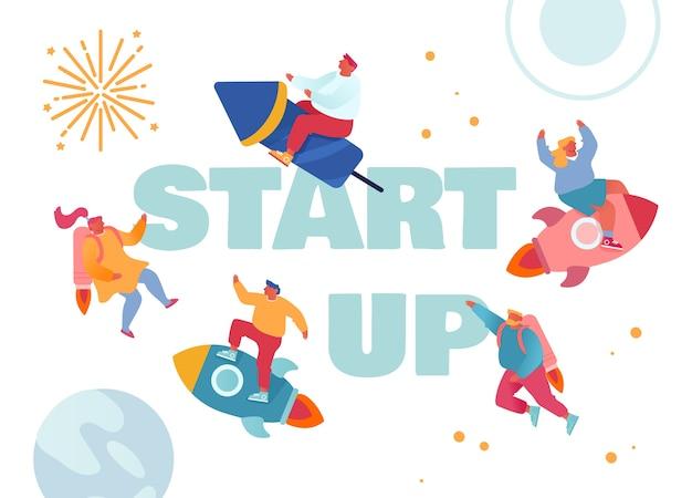 スタートアップと創造的なビジネスコンセプト