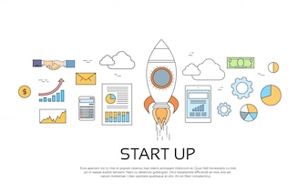 Start Up Concept New Business Plan