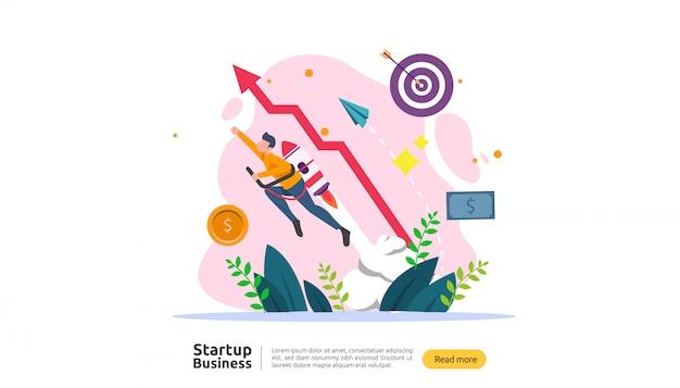 Start up idea concept.