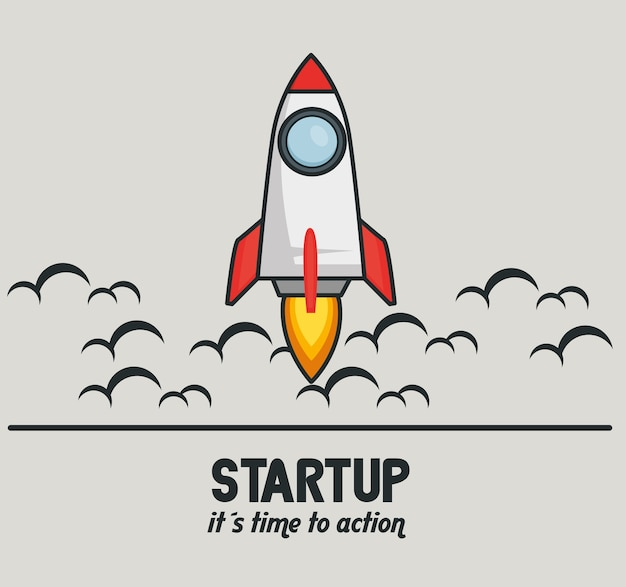 Start up launcher rocket