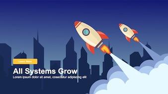 Simple Rocket Webデザインを起動する