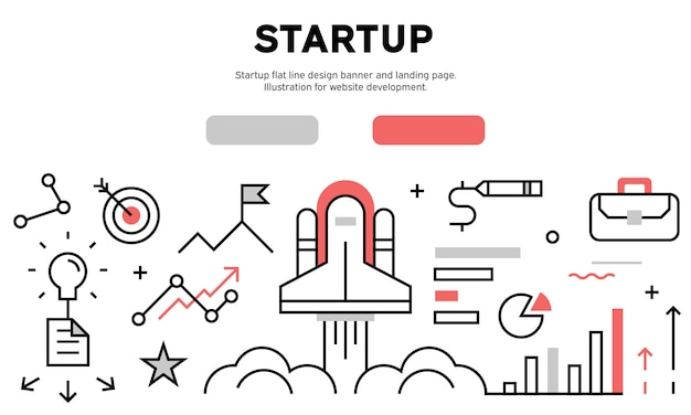 Start up web banner