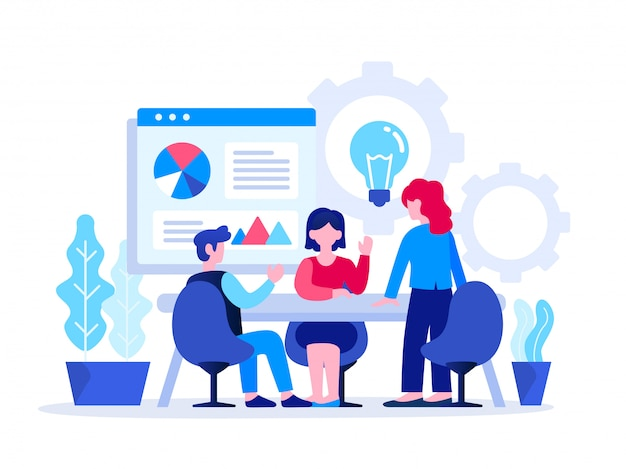 Startup business concept