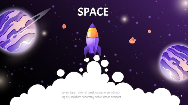 Startup business idea background  cartoon illustration in game style