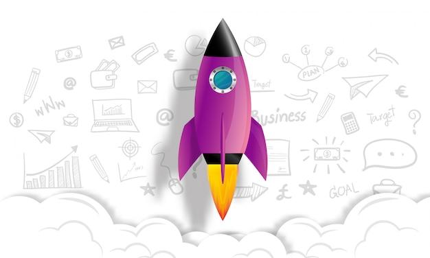 Startup business idea concept