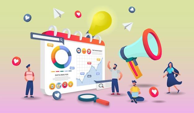 Startup concept illustration.
